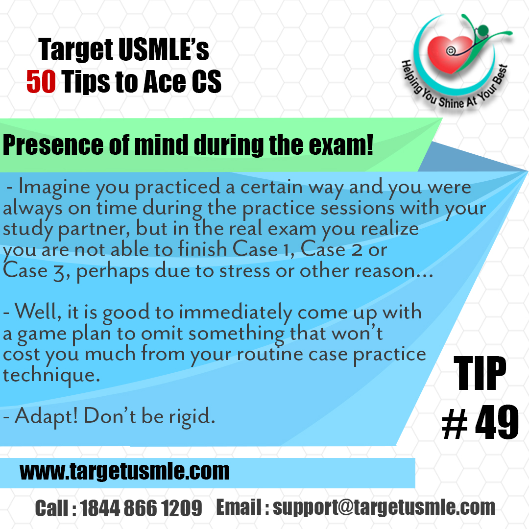 50 tips to Ace CS